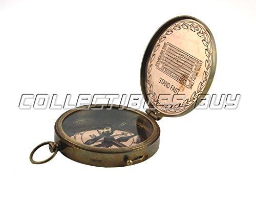 Antique Marine Finition cuivre American Boys Scout Boussole de poche et finition nickel Sifflet vintage nautique Laiton fait à la main Halloween et cadeau de Noël