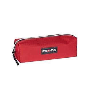 Pro-Dg- Estuche portatodo Cuadrado, Color Rojo, 22 cm (Karactermanía 56628)