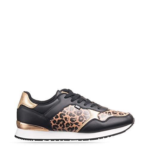 'Zapato DE Mujer XTI Plano con Cierre DE Cordones' - para: Mujer Color: Leopardo Talla: 36
