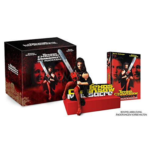 Texas Orange Farbe (Return of the Texas Chainsaw Massacre 4 - Limited Büste + Mediabook Edition (333 Stk) inkl. Langfassung - DVD - Blu-ray)