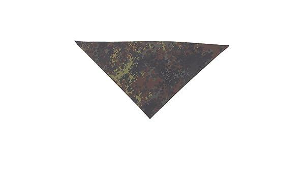 Original Bundeswehr Dreieckstuch Dreiecktuch Gebraucht Farbe Flecktarn 130 x 100 cm Gesichtsschutz Staubschutz Halteschlinge