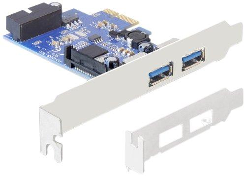 DeLock PCI Express Karte (2x extern USB 3.0, 1x intern 19-Pin USB 3.0) (Esata-usb-pci)