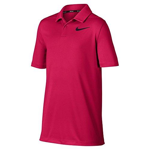 Nike Jungen Poloshirt Victory, Pink (Rush Pink/Black), XL -