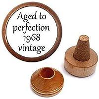 50th Birthday Gift idea For Him Men Women Her | Wine Bottle Stopper Set