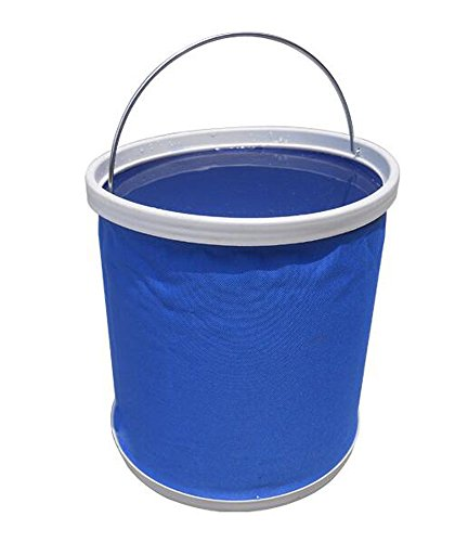 pliage de toile de lavage de voiture de godet Godet jardinage,blue