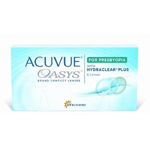 Acuvue Oasys for Presbyopia 2-Wochenlinsen weich, 6 Stück / BC 8.4 mm / DIA 14.3 / ADD HI / 3.25 Dioptrien