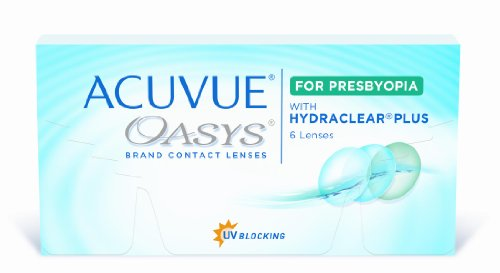 Acuvue Oasys for Presbyopia 2-Wochenlinsen weich, 6 Stück / BC 8.4 mm / DIA 14.3 / ADD MED / -3.25 Dioptrien