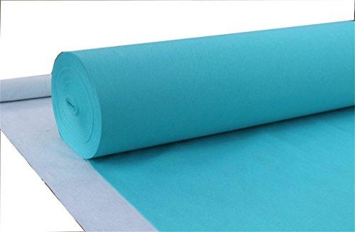 (Einweg-Hochzeit Teppich/One-Time-Thema Veranstaltung Teppich/Hotel Willkommen/Abschluss/Abendessen/Eröffnungsfeier/Business-Ausstellung Anti-Rutsch-Teppich ca. 2mm dick (grün))