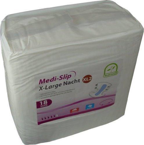 Windeln für Erwachsene Inkontinenzwindeln Inkontinenz Medi - Slip Medi-Inn ver Gr.(72 Stück,X-Large 2 (3450 ml))