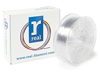 Real Filament 8719128327198 Real PETG, Spool of 1 kg, 1.75 mm, Neutral