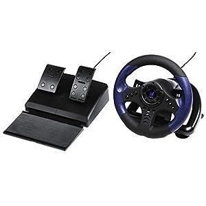 Hama PC-Racing-Wheel, mit Gas und Bremspedal, mit USB-Anschlus