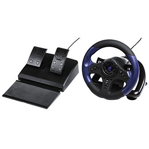 "Price comparison product image Hama ""uRage GripZ"" Gaming Racing Wheel (PC CD)"