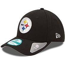 New Era 9forty - Gorra con ajuste trasero, diseño de la liga NFL, Unisex, Pittsburgh Steelers #2711, OSFM (One Size fits most)