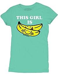 David and Goliath This Girl Is Bananas Womens T-shirt