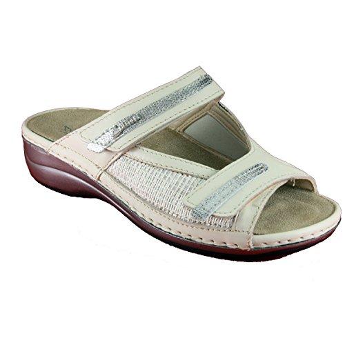 Hergos h 571 beige clintelast - calzatura elegante per alluce valgo - vera pelle - 37, beige, primavera/estate