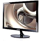 Samsung S24D300HL 59,94 cm (23,6 Zoll) LED Monitor (VGA,HDMI, 5ms Reaktionszeit) schwarz-glänzend
