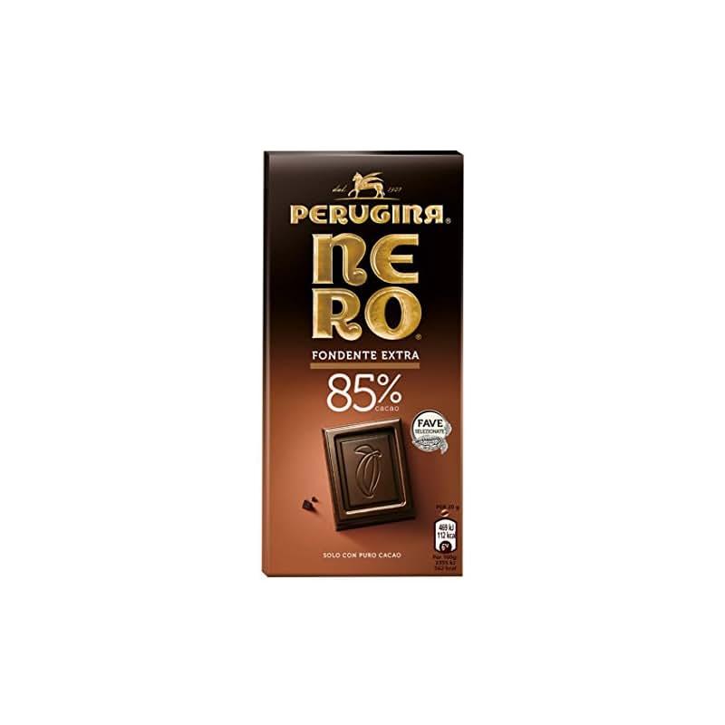 Nero Perugina Tavoletta di Cioccolato Fondente con 85% di Cacao