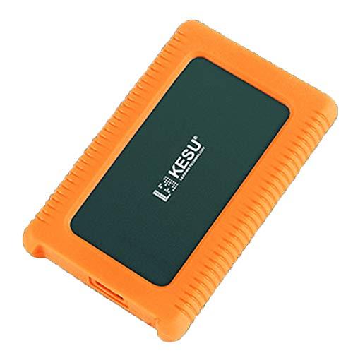 GXLO Externe Festplatte Mini USB 3.0 Portable 2,5-Zoll-Schock-, Drop- und Crush-resistent für PC und Mac,Green,160GB -