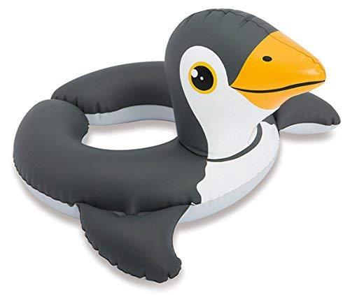 Intex Wasser Schwimm Ring Reifen Hilfe Spielzeug Tier Kopf Motiv Pinguin