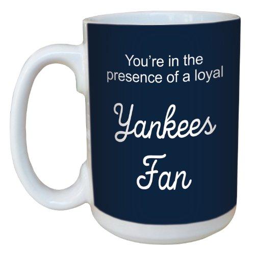 Tree Free Grußkarten, Keramik 15 oz-Yankees Baseball-Fan Tasse mit großen Griff, Mehrfarbig