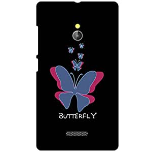 Nokia XL RM-1030/RM-1042 Back Cover - Butterfly Designer Cases