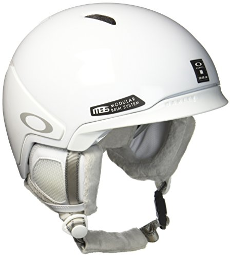 Oakley MOD3 Ski Helm, Polished White, L