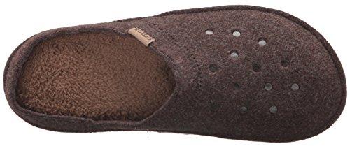 Crocs Classic Slipper, Chaussons Mules Mixte Adulte Marron (Espresso/Walnut)