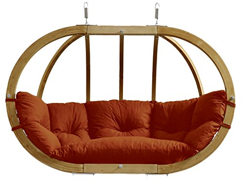 AMAZONAS Hängesessel in edlem Design Globo Royal Chair bis 200 kg, Rot