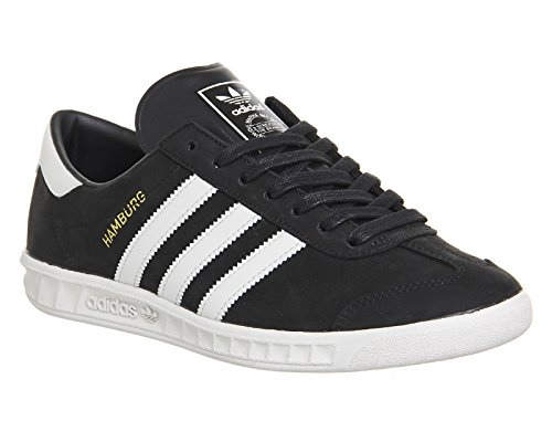 Aq3197 Hamburg Leder Schwarz Kult Herren Schuhe Adidas Originals Grau Sneaker 4fB00q
