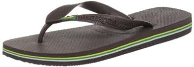 Havaianas Flip Flops - Havaianas Brasil Flip Flops - Dark Brown