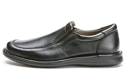 FRAU 13N5 FX homme noir chaussures mocassin confort Nero