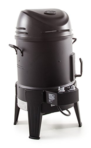 Char-Broil The Big Easy  - Smoker, Roaster and Grill All-in-One! with TRU-Infrared technology, Black Finish.