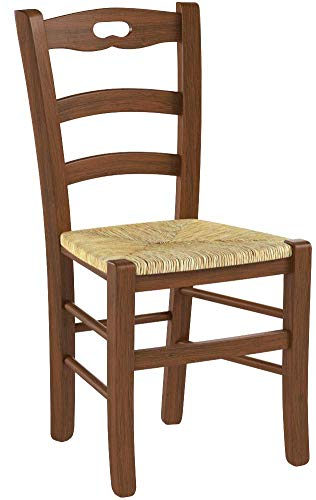 Tommychairs sillas de Design - Set de 6 sillas Savoie 38 Cocina, Comedor, Bar y Restaurante con Estructura en Madera...