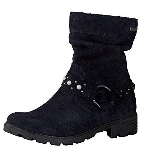 RICOSTA Mädchen Winterstiefel Rahel 7225800,Kinder Winter-Boots,Fellboots,Fellstiefel,gefüttert,warm,wasserdicht,Weite Mittel,See,EU 30