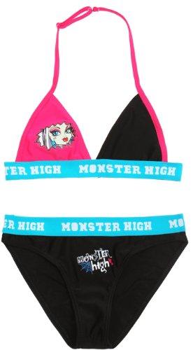Badeanzug 2Stück Kinder Mädchen Frankie Stein Monster High schwarz/blau 10Jahre