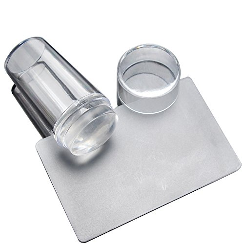 Babysbreath Nail Art Stamping Stamper Schaber Kit DIY Polnisch Print Schablone Maniküre Werkzeuge