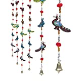 #7: Pindia 'Peacock' Rajasthani Handcrafted Paper Mache Door Hanging  (Set of 2)