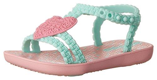 Ipanema Baby Mädchen MY First Sandalen, Rose (Pink/Green), 22-23 (Green Schuhe Flache)