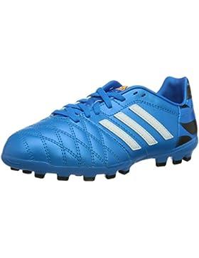 adidas 11Nova AG J - zapatillas de fútbol de cuero niño