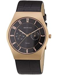 BERING Time Herren-Armbanduhr Slim Classic 11939-462