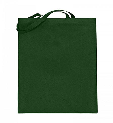 Borsa In Juta Di Alta Qualità (con Manici Lunghi) - ❤principessa Verde