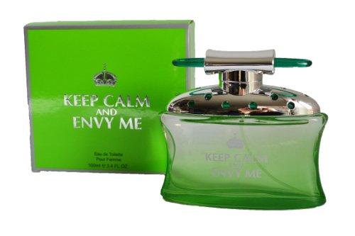 Creative couleurs et inscription Keep Calm and Envy Me pour Femme 100 ml