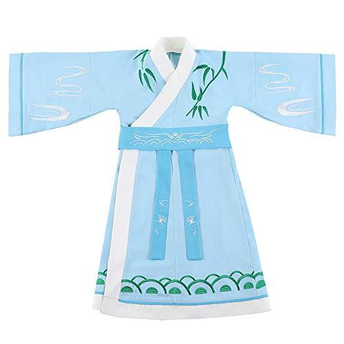 Chenyang86 Hanfu - kostümierte Schüler (Farbe : Hellblau, größe : 160cm)