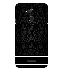 PrintDhaba Pattern D-2221 Back Case Cover for COOLPAD NOTE 3 LITE (Multi-Coloured)