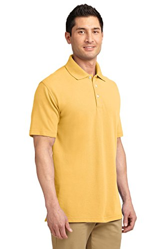 Port Authority ezcotton Pique Polo Shirt Maize Yellow