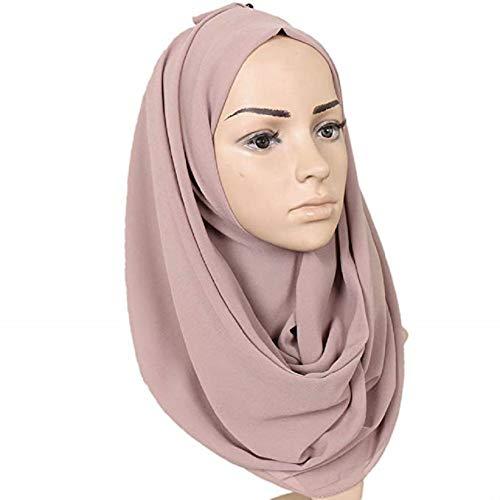 Hijab – schlammfarben – 75cm*180cm - 4