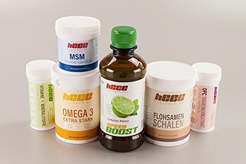 Omega-3-minze (hCG Diät / Stoffwechselkur 30 Tage Basisversorgung in Spitzenqualität (SpeedBoost Limette-Minze))