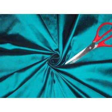 Reine Seide Dupionseide Stoff grün x schwarz 137,2cm by the Yard -