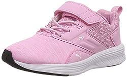 Puma Unisex-Kinder NRGY Comet V PS Sneaker, Rosa (Pale Pink-Puma White), 34 EU