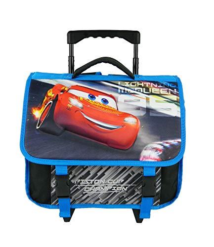 Bagtrotter Cartable à roulettes Disney Cars Mcqueen...